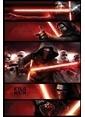 Pyramid International Maxi Poster - Star Wars Episode VII Kylo Ren Panels Renkli